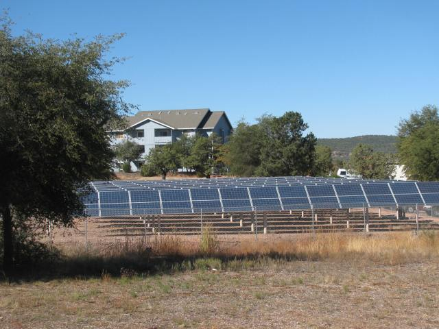 Renewable - Sun Tracking Solar Array