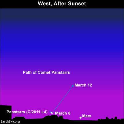 Comet Pan-Starrs Great Photo Op