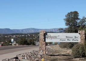 Payson is 11 Miles East of the Geographic Center of Arizona!