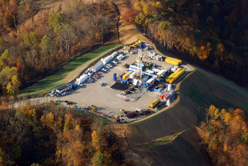 Fracking Site in West Virginia