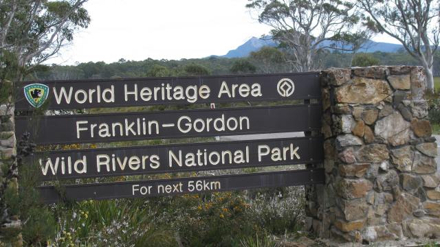 Franklin - Gordon Wild Rivers National Park - A World Heritage Area