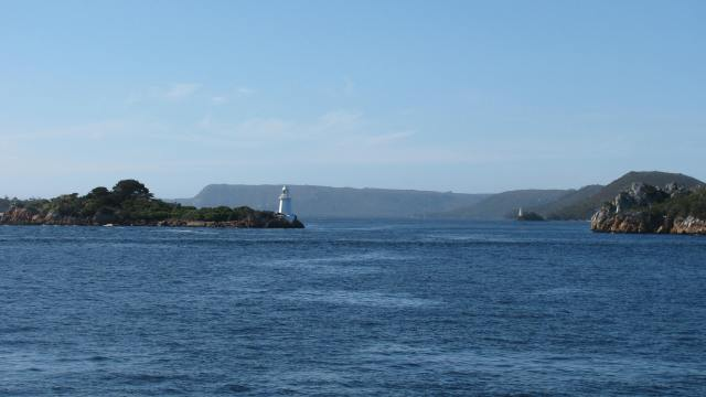 Macquarie Harbour is one of the largest Fresh Water Bays in the world.