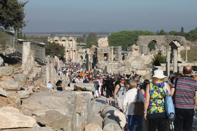 A typical day at Ephesus