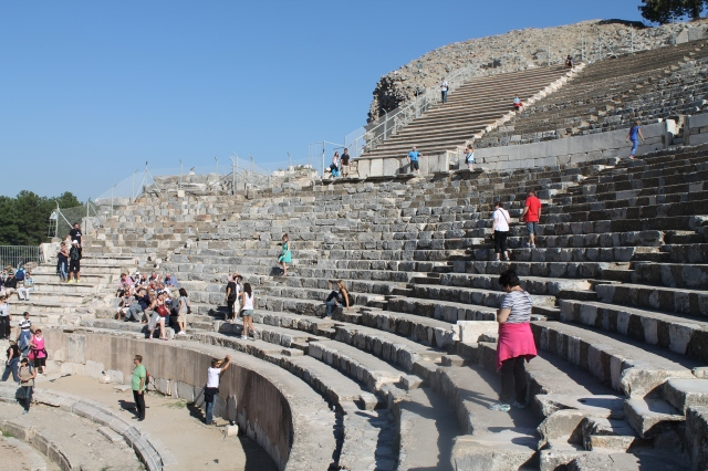 Open Air Theater where Gladiators, Pavarotti, and Elton John have performed!