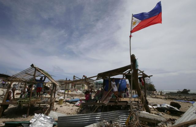 Tacloban was devastated by the storm surge