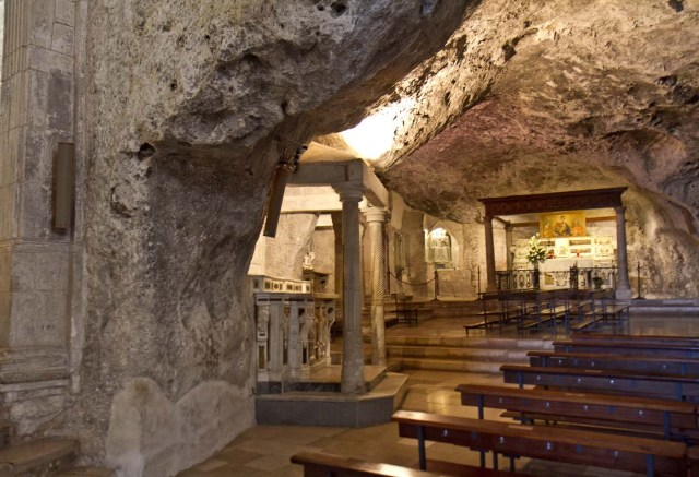 Ever go to Church in a Cave?