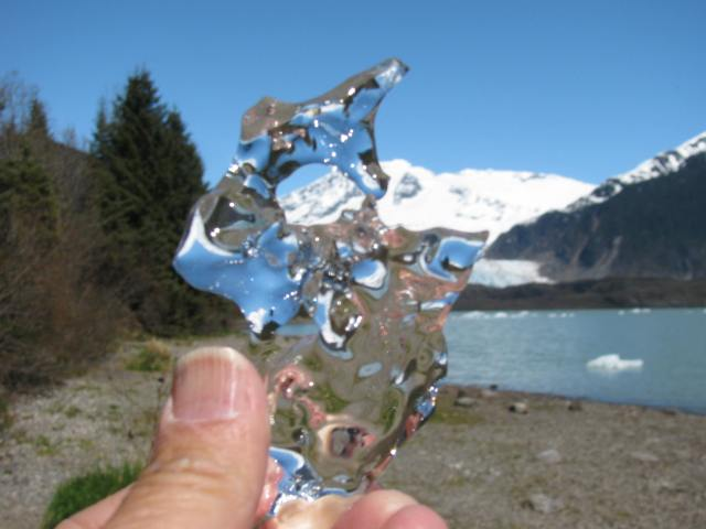 Pure Glacial Ice