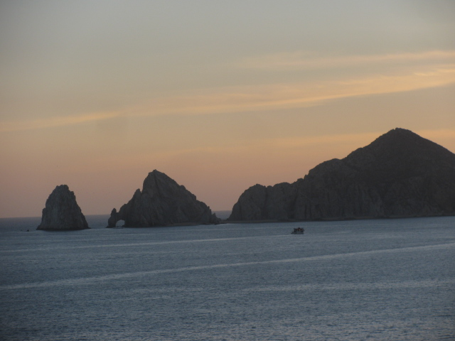 Los Arcos in the Evening