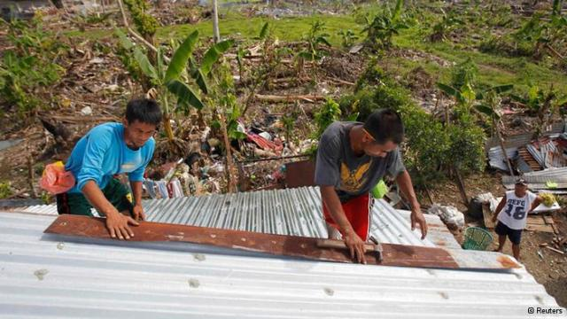 With Help from the German Red Cross, this School was opened two months after Haiyan hit!
