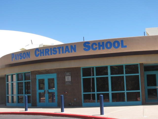 The Payson Christian School donated the use of their facilities!