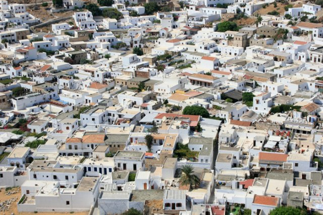 Ever wonder why many of the Mediterranean Houses are White?